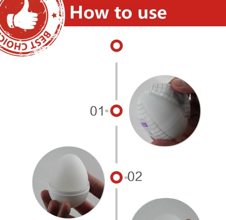 Egg Male Masturbator Sex Pocket Realistic Vagina For Men.