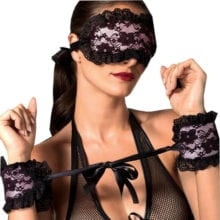 Best Blindfold And Handcuffs In Polyester