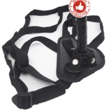 camaTech Strap On Mini Dildo With Suction Cup Leather Strapon Penis Harness For Women Vagina/Anal Plug Lesbian Underwear Sex Toy