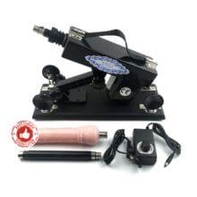 ENHOT sex machine for women and men With 1 free dildo UK,USA,EU,AU,Russia plug outlet power adapter+extension rod E-A5