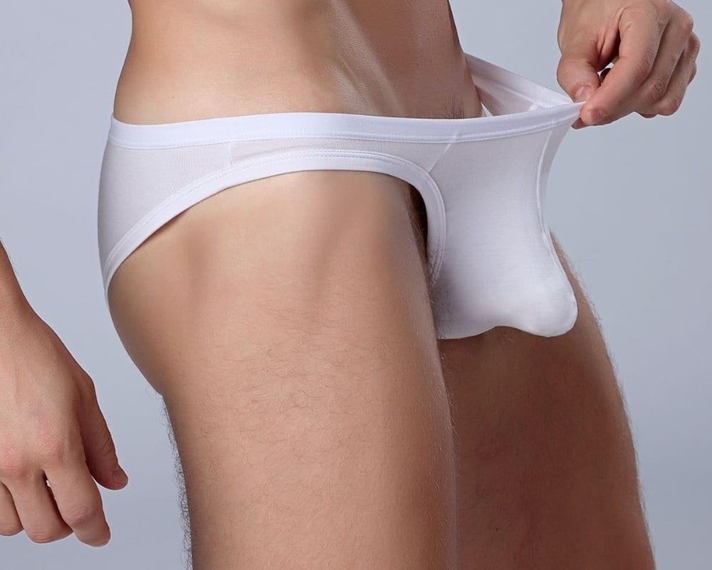 2017 Hot Sexy Men Soft Modal Underwear Jockstrap Cueca Gay Mens Thongs Sissy Panties Briefs Plus Size Thongs Tanga String Homme