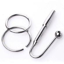 Stainless Steel Urethral Sound Toys For Men Urethral Plug Male Sounding Dilator Penis Plug F08