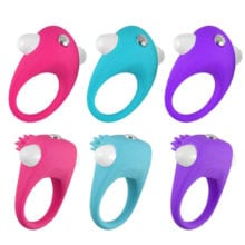 Violent space 2 Style 3 Colors Vibrating Cock Ring Delay Ejaculation Penis Ring Sex Toys for Men Sextoy Cockring Anel Peniano