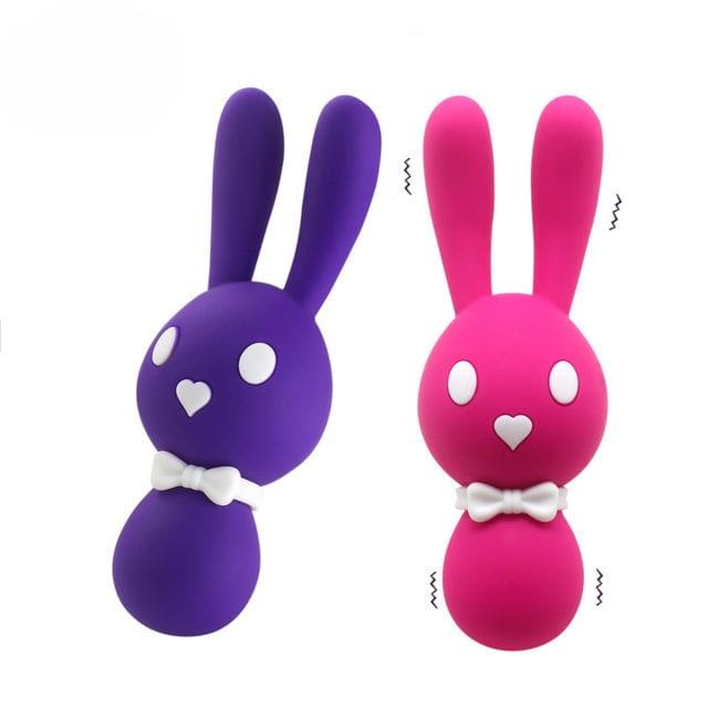 USB Recharge G Spot Rabbit Vibrator Eggs For Females