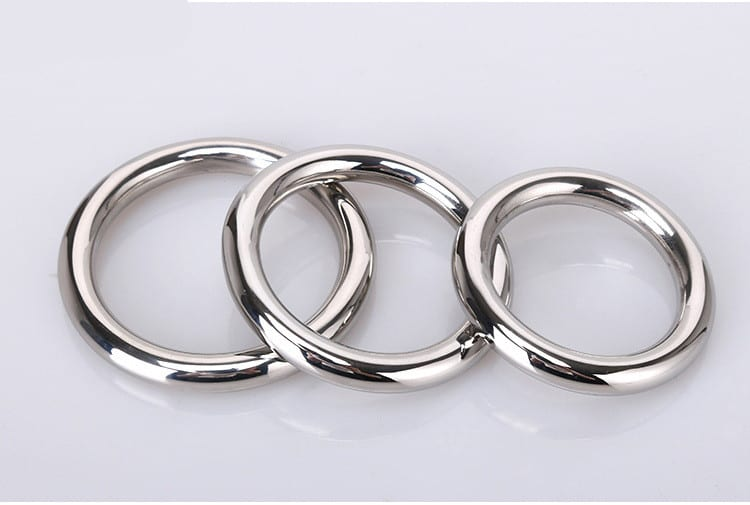 stainless steel penis ring sex toys for men round cock rings sex ring R16