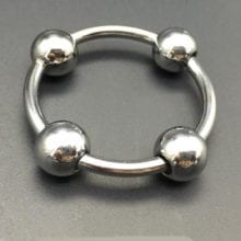 2016 glans ring, stainless steel penis ring,Four beads cock ring,male chastity device,penis sleeve,cockring,cock cage