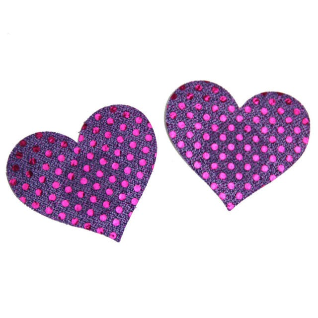 Candiway Women Heart Breast Petals Sexy Bra Pad Adhesive Nipple Cover Disposable The Chest Paste Intimates Summer Hot Selling