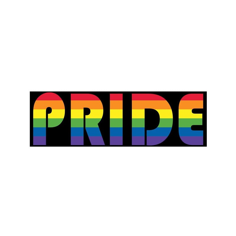 Polyvinyl Gay Pride Colorful Personality Car Stickers