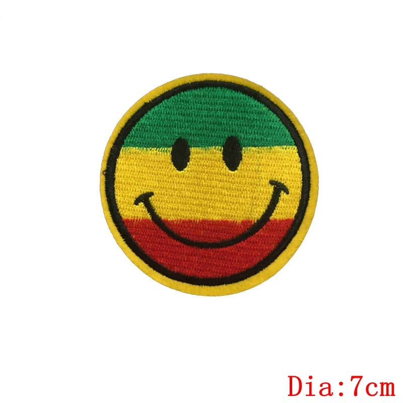 Fabric Lesbian Flag Colorful Patches For Clothes