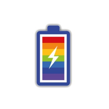 Rainbow Gay Pride | Battery Car Wallpaper