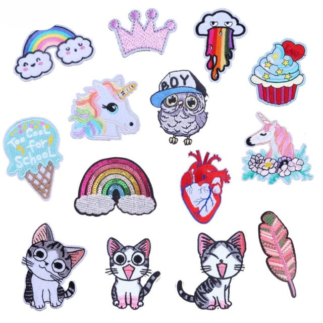 Heart Pride Cute Cartoon Patches For Clothes Sticker