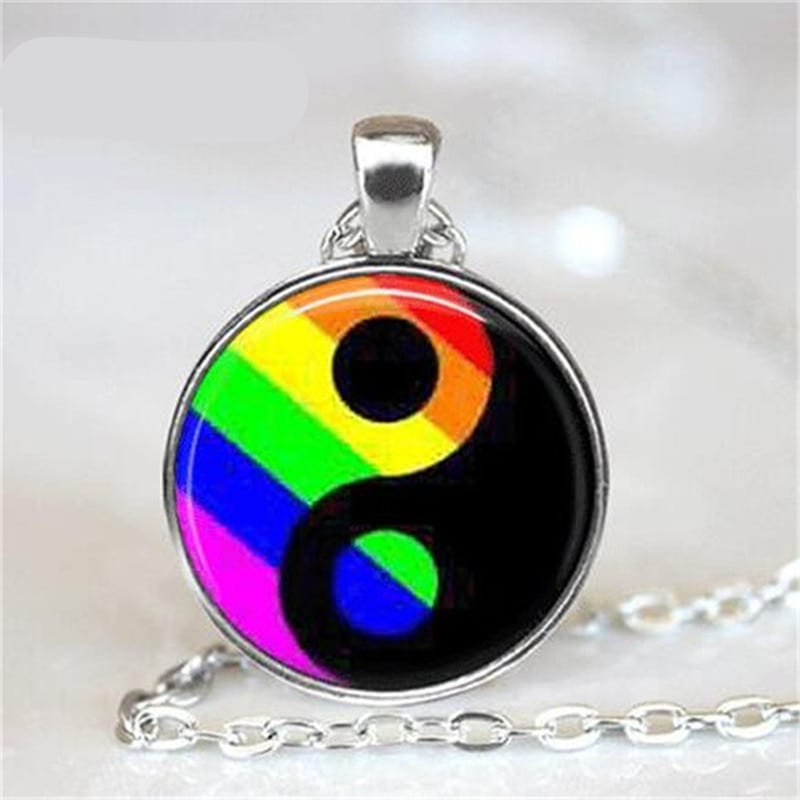 Zinc Alloy LGBT Gay Pride Link Chain Jewelry