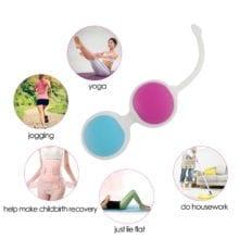 Silicone Kegel Balls Exercise Smart Love egg Vaginal Ball Tight Machine Vibrators Ben Wa Balls Sex Toys for women Adult toy
