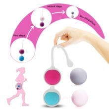 Silicone Ben Wa Kegel Balls For Exercise