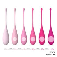 New Design 6pcs/set Smart Kegel Ball Vibrator Vaginal Massager,Ben Wa Ball,Vaginal Tight Exercise Ball Sex Products for Women