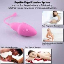 6pcs Set Smart Ball Vibrator Kegel Ball Ben Wa Ball Vagina Tighten Exercise Sex Machine Sex Toys for Women Vaginal Geisha Balls