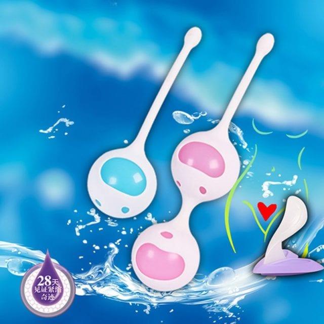 Medical Silicone Women Kegel Balls Vibrator Tighten Vaginal Ball Ben Wa Balls Geisha Ball Sex Toys for Women Sexshop