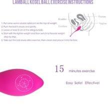 Vibrator Kegel Balls Smart Love Ball for Vagina Tight Exercise Sex  Machine Aid Love Geisha Ball Ben Wa Sex Toys for Women