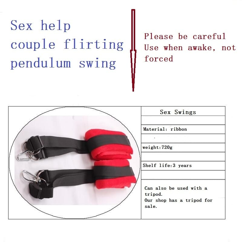 Sex Furniture Swing Chairs Sex Products Help Couple Flirting Pendulum Swing Adult Tied Door Swing Shared Men Women