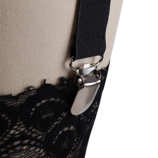 90s bdsm Women pastel goth liguer garter belt fetish bondage lingerie garter belt stocking body harness strap bra rave wear
