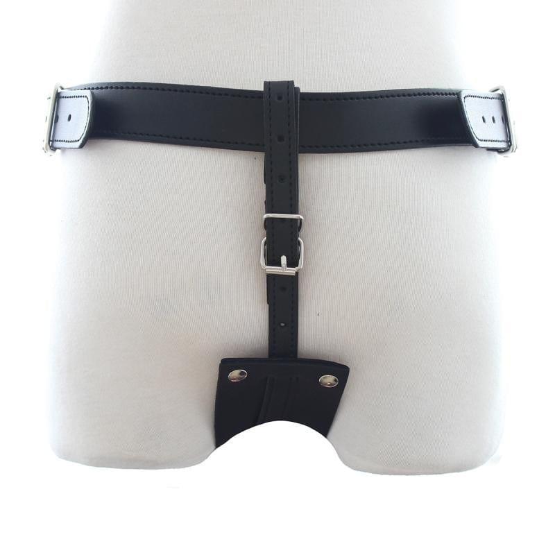 Leather Bondage Harness Anal Plug Harnesses,BDSM Harnesses,Male Chastity Belt,Adult Sex Toys For Men