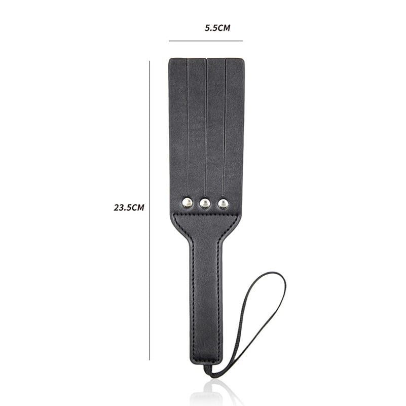 Morease Leather Spanking Paddles Fetish Erotic Slave Whip Handle Flogger Bdsm Sex Toy brinquedos sexuais For Couple Women