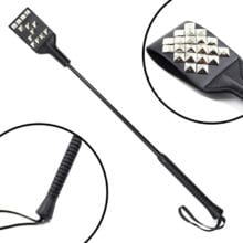 53cm Sexy Whip Flogger PU Leather Rivets Fetish Bondage Sex Toys Bdsm For Couples Spanking Paddle Policy Knout Erotic Adult Game