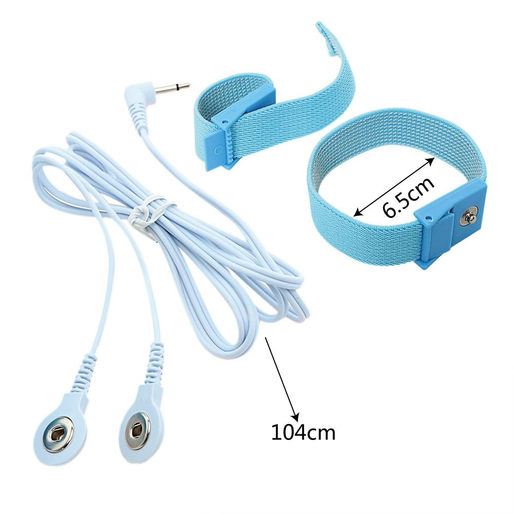 IKOKY Penis Extender Electric Shock Cock Rings Penis Stimulator Medical Themed Toys Erotic Sex Toys for Men Adult Products
