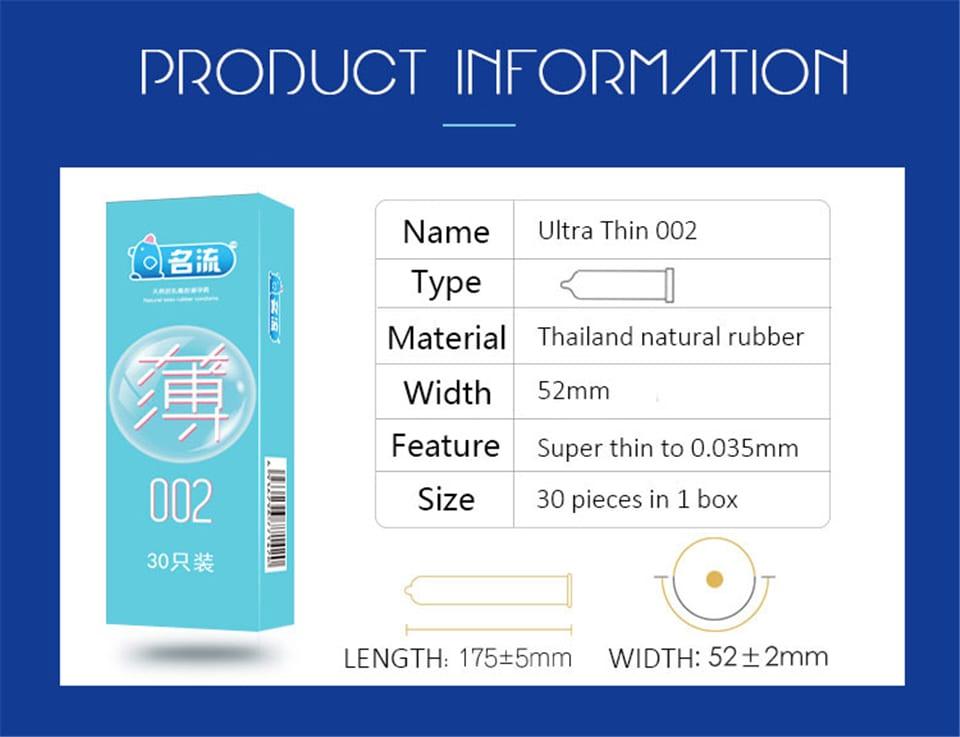 30pcs Mingliu 5 Types Penis Condoms For Men Pleasure Sex Toys Dots Natural Rubber Condones Male Contraception Penis Sleeve Tools