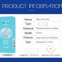 MingLiu 30pcs Pleasure Ultra Thin Rubber Condoms Slim Penis Sleeve Intimate Contraception Condones Kondom Sex Tool For men