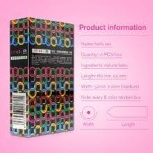 Natural Latex Multi Color Condoms