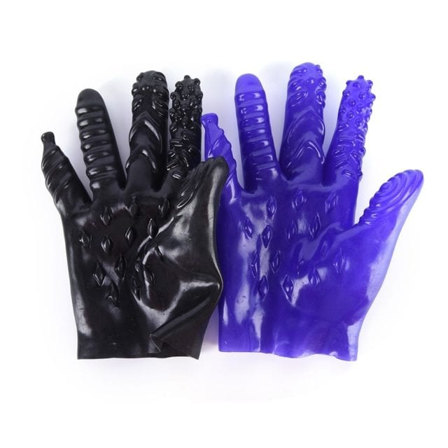 1X Erotic Accessories Sex Gloves Plam Masturbation For Couples Vagina Stimulator Breast Nipple Massage Sex Shop BDSM Toys Gloves