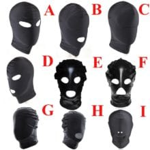 Head Mask Of Different For Bondage Lovers