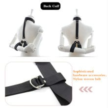 New Bdsm collar with hand cuffs sex toys for women bondage collar SM games sex shop slave collar fetish strapon sex tools