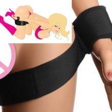BDSM Hand Cuffs and Legs Bondage Restraints Wrist Thigh Bondage Straps Kit,Adult Sex Toys For Couple