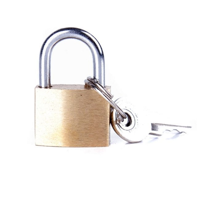 Lock for S&M Bdsm Bondage Restraint Sex Toys for Couples in Adult Game Erotic Toy Small Lock for S&M Gag Hand Cuffs Wrist Cuffs