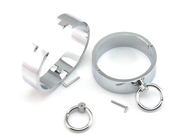 Leg Bondage Ankle Cuffs Shackles Metal Handcuffs Slave Restraints BDSM Fetish Legcuffs Sex Toys for Couples adult games tools