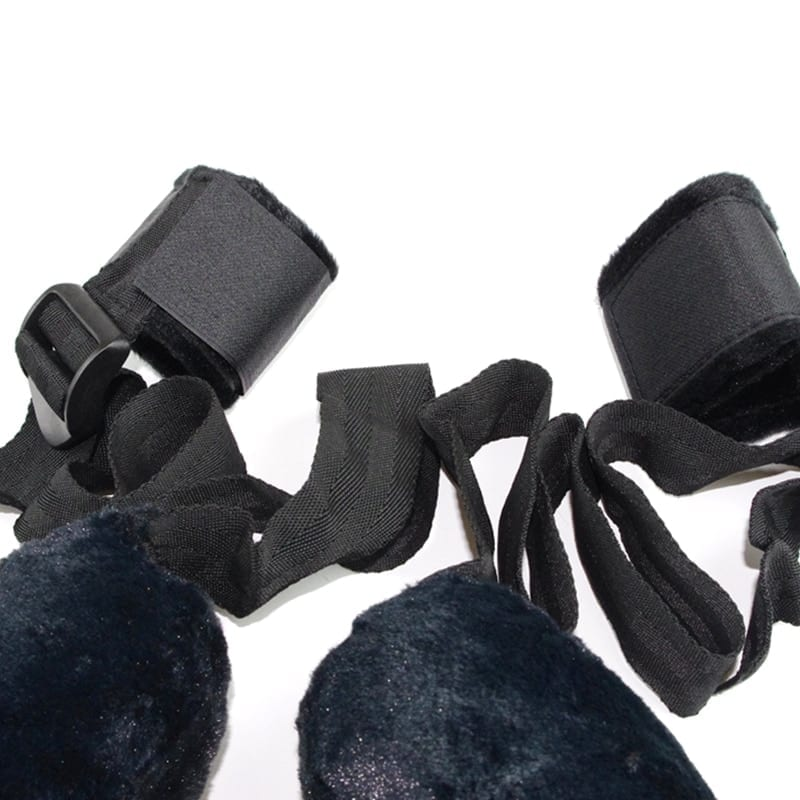 Plush pillow round neck collar handmade leg cuffs limit bondage sex toys BDSM fetish handcuffs adult games lovers to couples