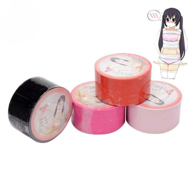 Erotic Toys 15M Electrostatic Tape Bdsm Bondage Gear Tape Bed Restraints Body Slave Sm Fetish Set Sex Tools For Sale Adult Game
