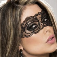 Hollow Sexy Women Lace Eye Mask For Flirting