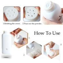 Meselo 100g/Bottle Sex Toys Care Talcum Powder Masturbators Cleaner Dry, Clean Powder For Latex Silicone Sex Products Protection