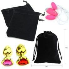 Black Storage Bags For Sex Products