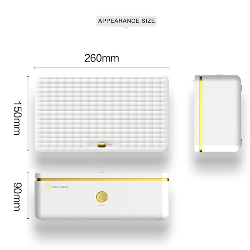 Portable UV Light Ozone Sterilization Storage Box for Vibrator Disinfection Case USB Charging for Sex Toys Dildo Masturbation