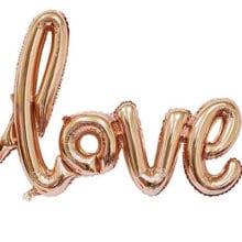 108 cm Love Foil Balloons Engagement Party Ornaments
