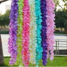 Different Styles Artificial Silk Flower For Wedding Party Decals