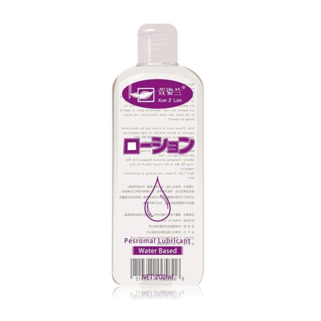 Personal Water-Based Anal Sex Lubricant body Massage Oil Masturbation Grease Sex Lube Oral Vaginal Gel 200ML Sex products