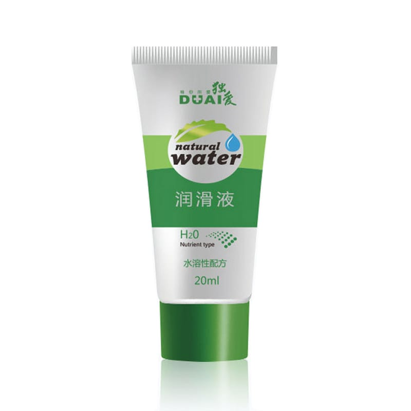 DUAI 20ML Water Based Anal Sex Lubricant Gay Lubricate Anal Oil Feminine Hygiene Products For Men/women Massage Oil