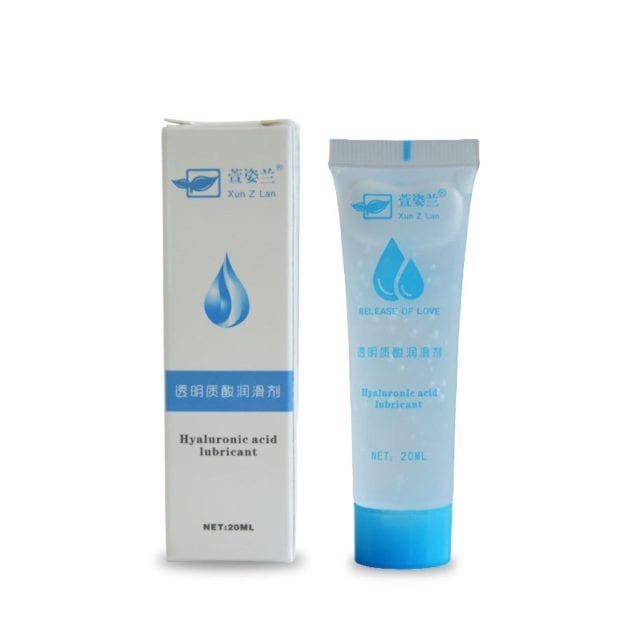 20ml Anal Sex Lubricant Lubricating Oil for Sex Water Based lube Natural lubrication Anal Gel Men Women Sex Product