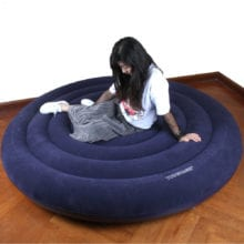 Luxury Inflatable Pillow Cum Sofa Pad For Adults