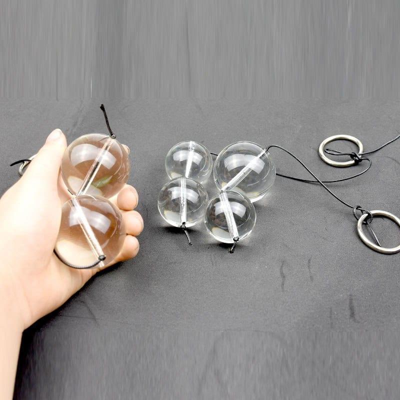 Huge Glass Anal Beads Butt Plug Vaginal Massage Vagina Kegel Balls Adult Toys Sex Ball for Women Prostate Massager Masturbator